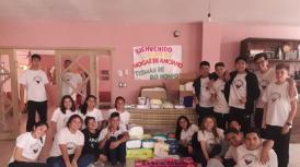 Festejaron el Día del Estudiante con una acción solidaria