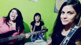 Una banda de rock integrada por mujeres termeñas